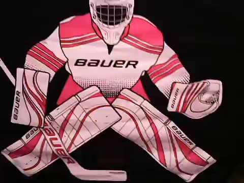 My Bauer Goalie Target And Black Ice Hockey Net Youtube