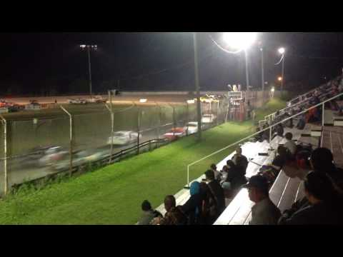 Factory Stock Feature part 1 Superbowl Speedway 4-15-17