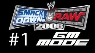"WWE SVR2006 GM Mode - Ep. 1 - ""Draft"""