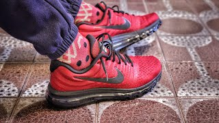 Nike Outlet Find: Nike Air Max 2017 Team Red Black Unboxing and On-Foot
