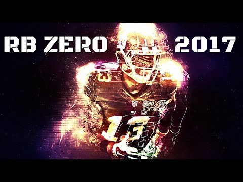 Fantasy Football Draft Strategy - The RB Zero Strategy 2017 Update
