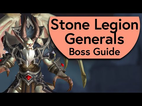 Stone Legion Generals Raid Guide - Normal/Heroic Kaal and Grashaal Castle Nathria Boss Guide