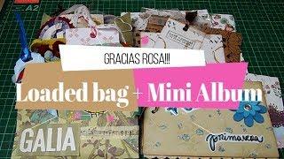 Correo bonito de My nube Rosa | Loaded bag y Mini album!
