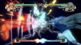 Naruto Ultimate Ninja Storm | Jutsu Clash: Naruto vs Sasuke | Rasengan vs Chidori