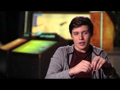 """Jurassic World """"Zach"""" Official Movie Interview - Nick Robinson"""