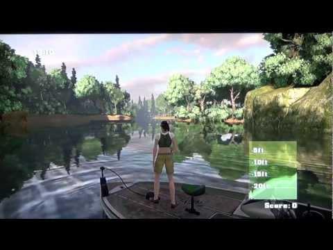 15 Min Z Rapala Fishing Frenzy 2009 - PS3 Gameplay By Maxim