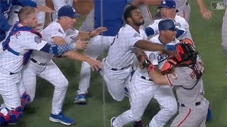 MLB Benches Clear