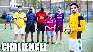 FREISTOß CHALLENGE! mit Ali, Seko, Blackbros UND Habib | Courage