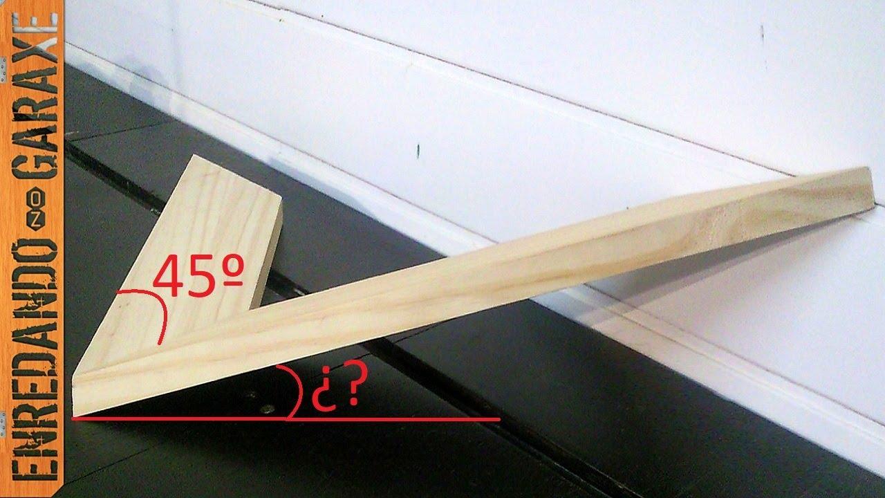 Cortar ángulos compuestos a inglete - YouTube