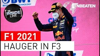 Who is Formula 3 driver Dennis Hauger?