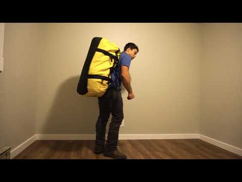 raggio Segnato cigno  North Face BaseCamp XL 132L ( how much gear can you fit in it? ) - YouTube