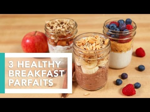 3 Healthy Breakfast Parfaits | Better Breakfasts