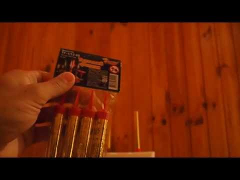 Как зажечь свечу фейерверк