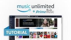 Das große Amazon (Prime) Music Unlimited Tutorial (Vergleich) Amazon Tutorial Serie #03