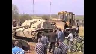 Подъем немецкой САУ StuG 40 Как новыи!!!
