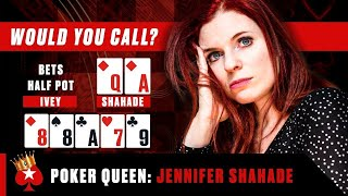 When a chess master plays Poker ♠️ Poker Queens ♠️  PokerStars