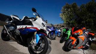 BMW S1000RR group test