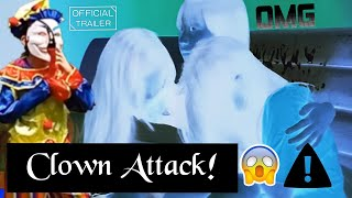 Girls Attacked By Clown