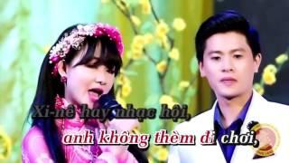 Bài Ca Tết Cho Em - Karaoke - Nguyễn Thành Viên