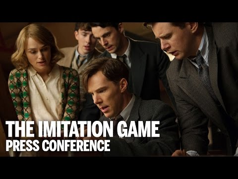 THE IMITATION GAME Press Conference  Festival 2014