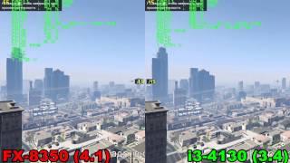 FX 8350 vs i3 4130 in GTA 5
