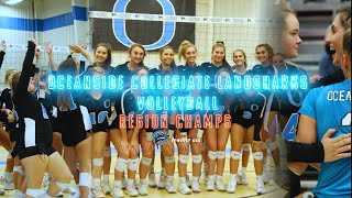 Oceanside Collegiate Volleyball Region Championship Game!