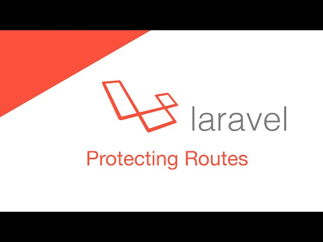 Laravel 5.2 PHP Build  a social network - Middleware & Route Protection