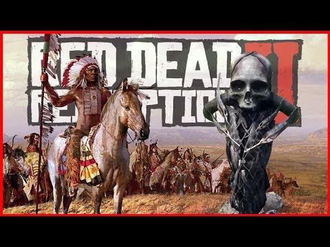 ТАЙНА ИНДЕЙЦЕВ В RED DEAD REDEMPTION 2: ТАЙНА ЗАГАДОЧНЫХ МОГИЛ В RDR 2 thumbnail