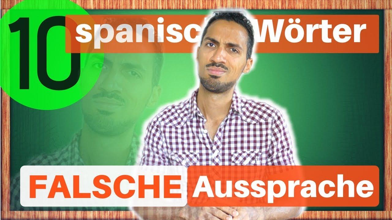 Falsch Spanisch
