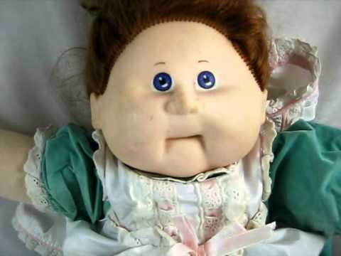 Cabbage Patch Kids Talking Doll Youtube