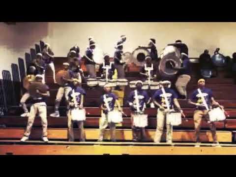 Georgia Washington Middle School Percussion Section (2018) Jefferson Davis Drumline Competition