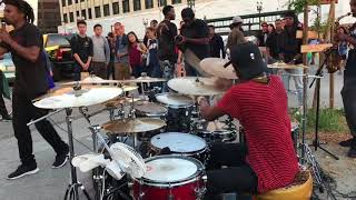 DrummerBoyAaron & CurB Service Meets First Friday Part 2