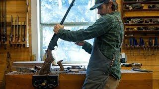 Carving A Walnut Shotgun Stock