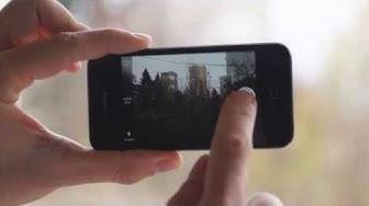 Снимане и споделяне на изображения през телефон с iOS