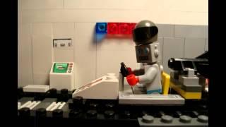 LEGO В гостях у ВАЗ - Краш тест