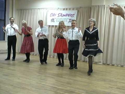 City Stompers dance Appalachian Joy