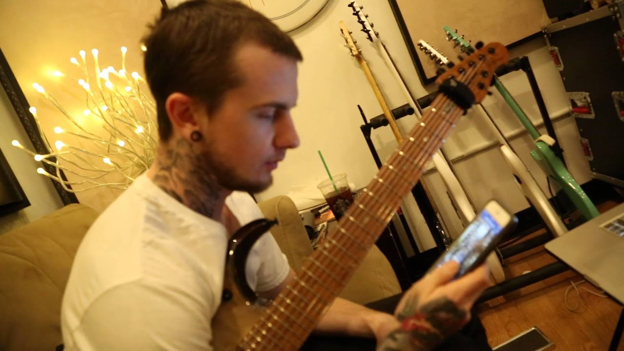 Jason Richardson Solo Album Studio Update 4 GUITARZ