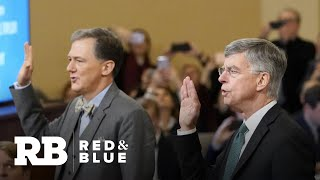 How both parties are spinning the first public impeachment hearing
