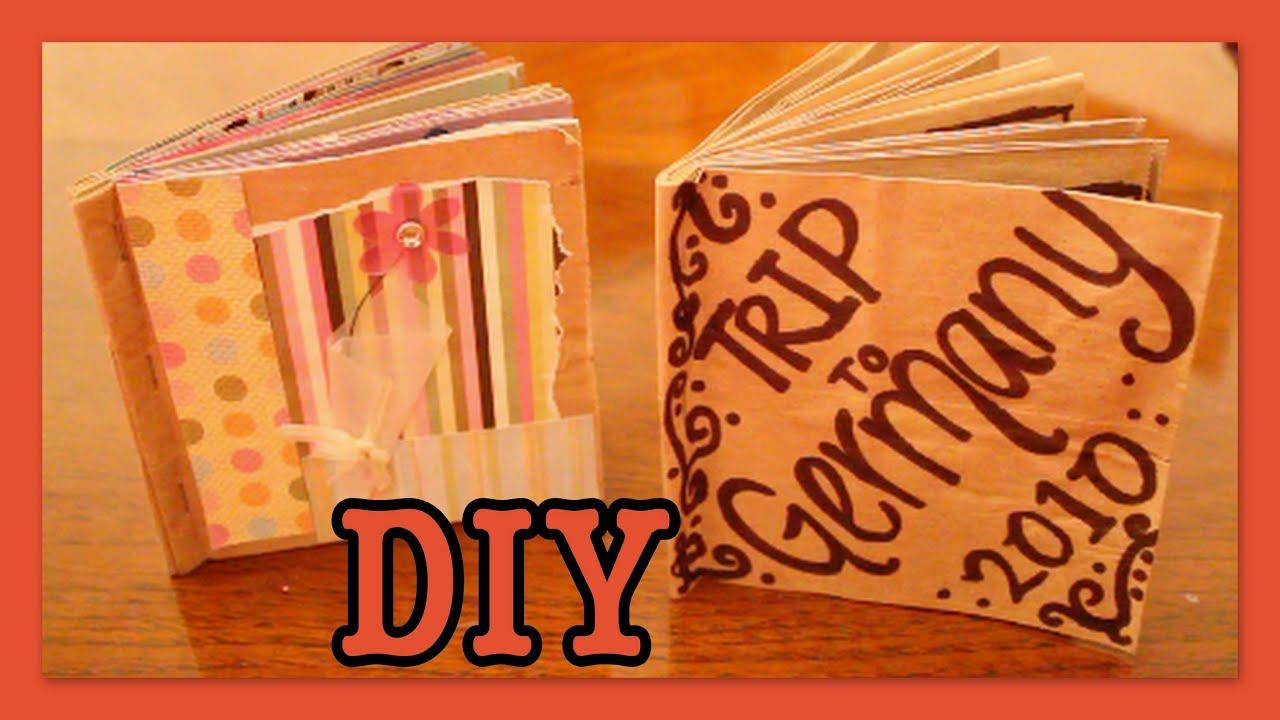 Diy mini album scrapbook for boyfriend 2014 youtube - Diy Brown Bag Album Scrapbook Youtube Salsuba Images