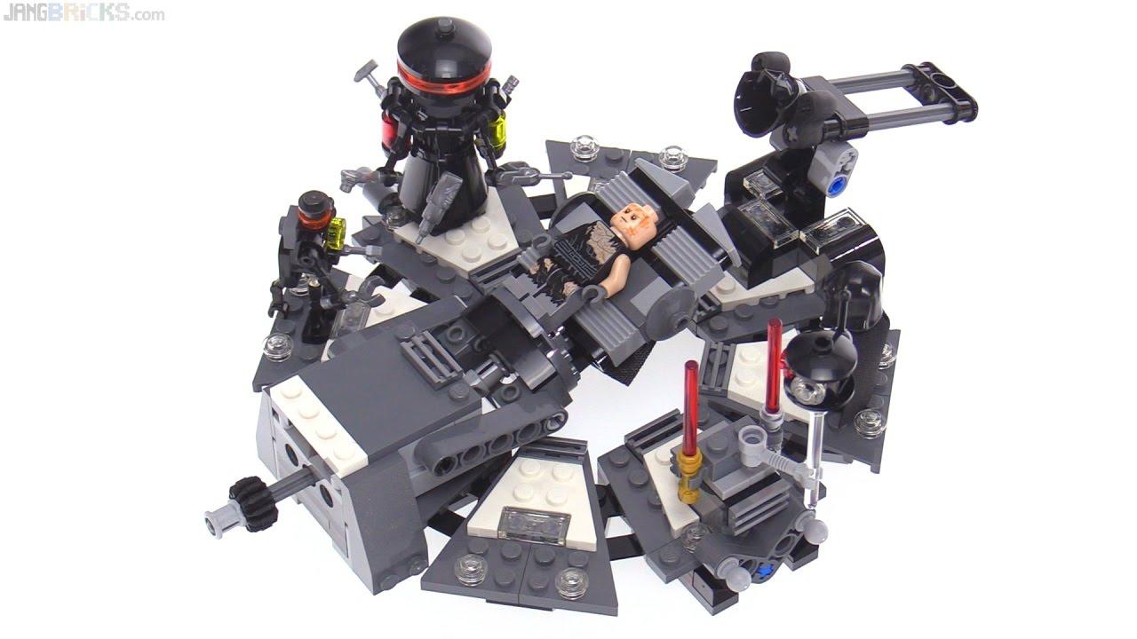 darth vader transformation minifigure 75183 LEGO Star Wars: Anakin Skywalker