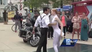 Watch: Milwaukee Ballet's Ballet Beat performance downtown Milwaukee