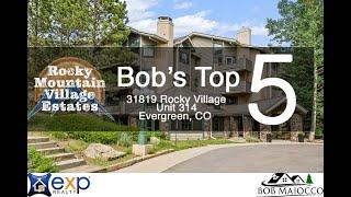 Living in Evergreen Colorado Starts in Rocky Mountain Village Estates