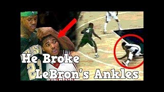 NBA Stories EP10 - Meet the ONLY person to EVER Break LeBron James' ANKLE!