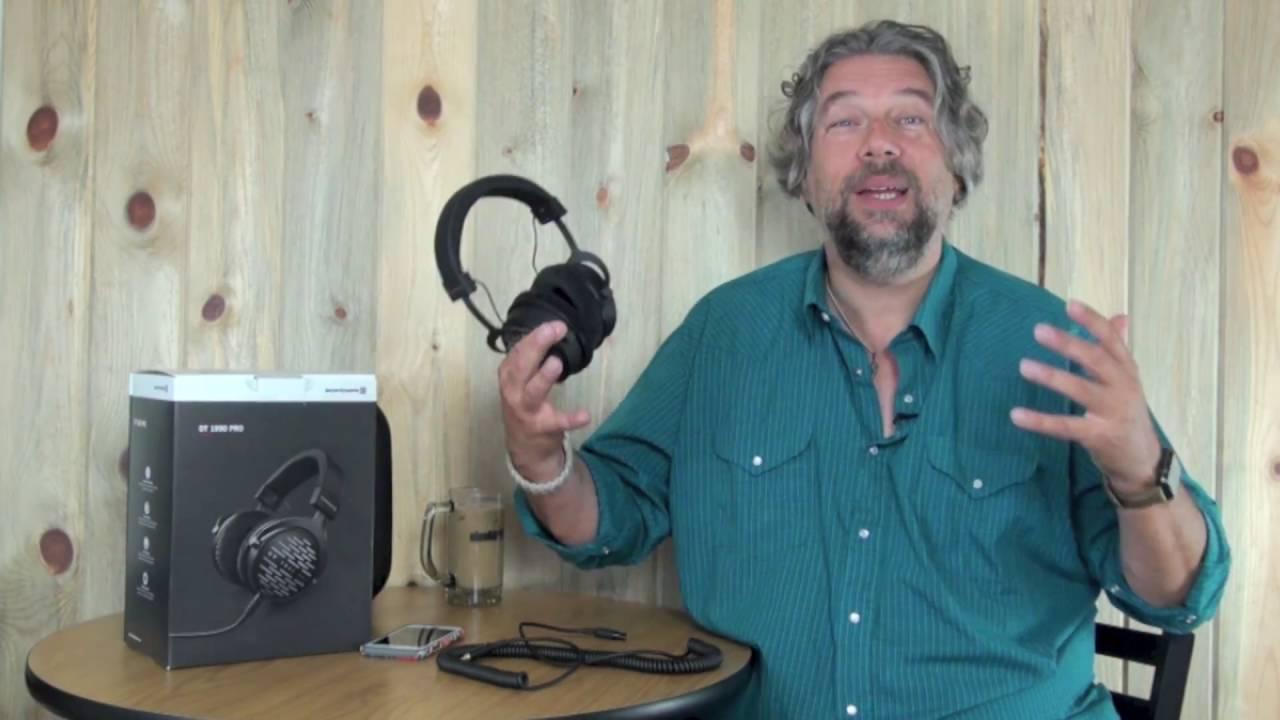beyerdynamic dt 1990 pro studio headphones review youtube. Black Bedroom Furniture Sets. Home Design Ideas