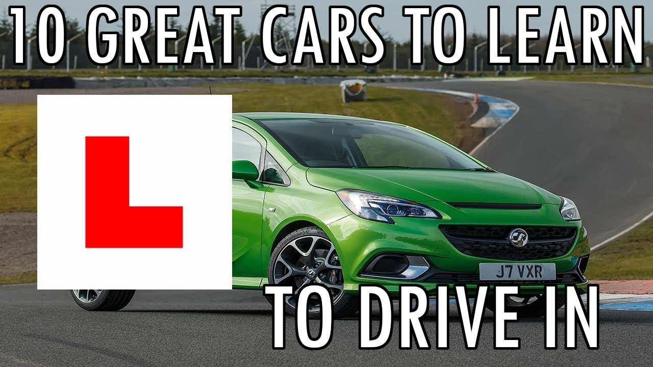 Top 10 Best Cars To Learn To Drive In - YouTube
