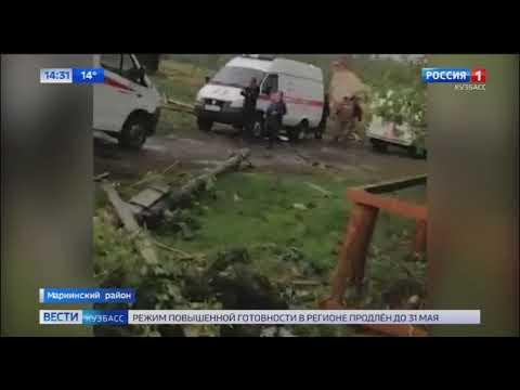 В Кузбассе ураган уничтожил деревни