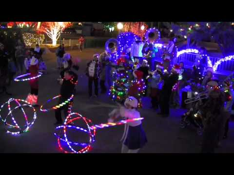 The Hillstompers at Cliff's Magical Christmas - YouTube