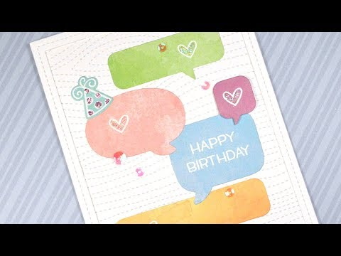 How To Make Cute And Simple Birthday Card