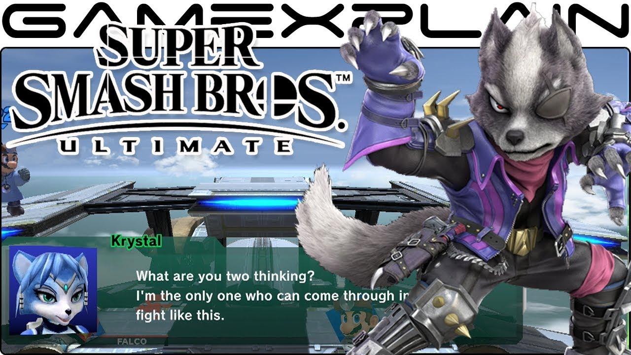 Super Smash Bros Ultimate: All Secret Star Fox Conversations on Lylat  Cruise (Easter Egg)