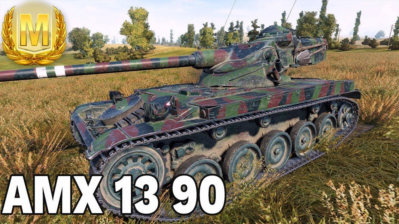 ZEPSUTY MAGAZYNEK? – AMX 13 90 – World of Tanks